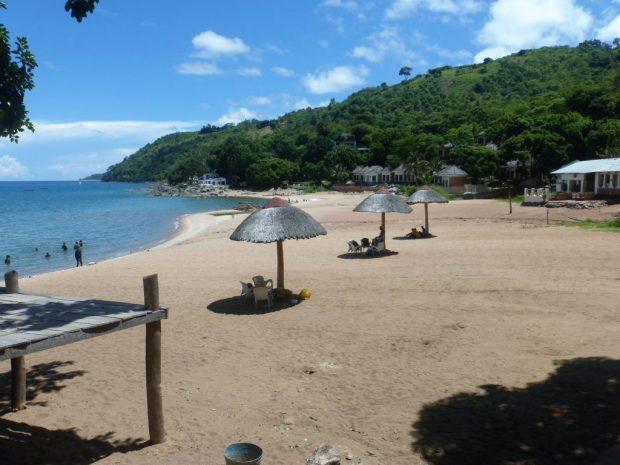 Beach in Malawi