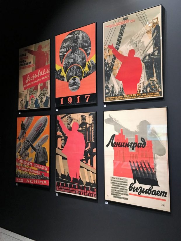 Wall of Soviet Posters