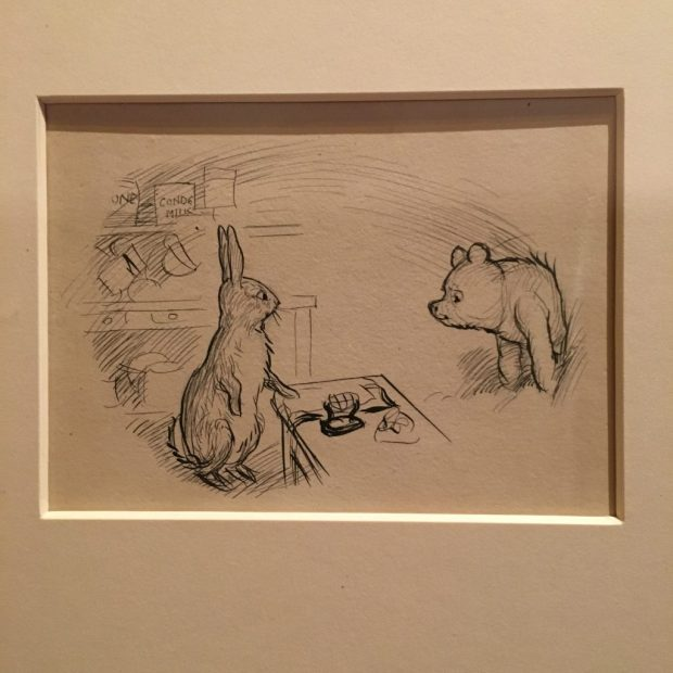 Winnie the Pooh at the V&A