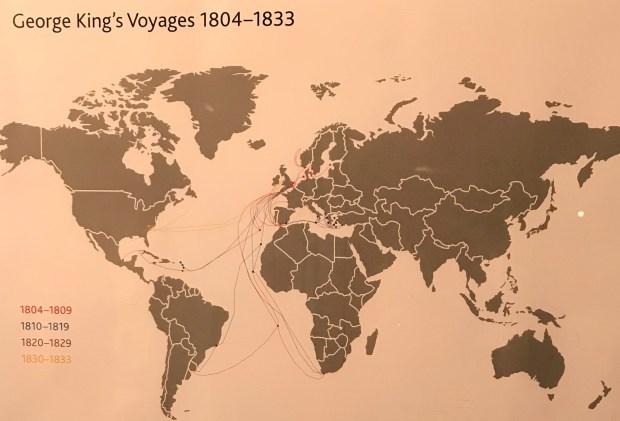 George King's sea travels