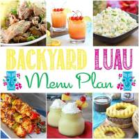 Easy Backyard Luau Recipes and Party Decoration Ideas ...