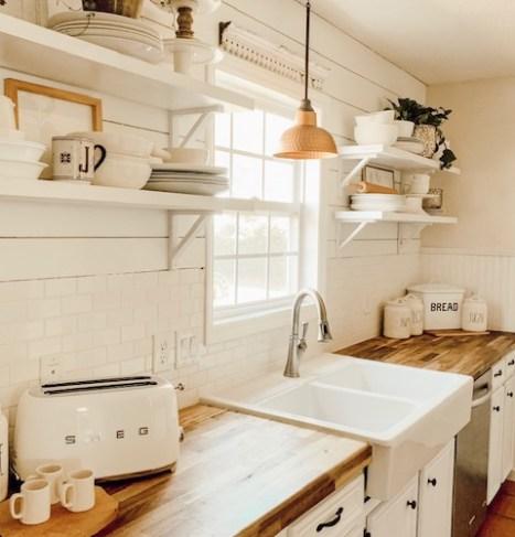 Cottage Style Kitchen Itty Bitty Farmhouse