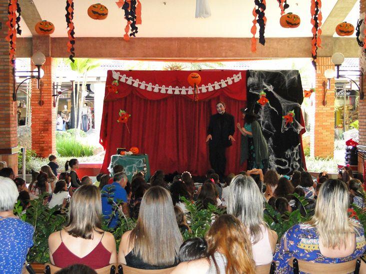 Halloween do Plaza Shopping Itu reúne mais de 500 pessoas