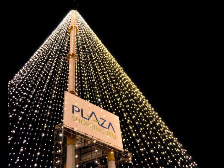 Plaza Shopping Itu inaugura Árvore de Natal Gigante na sexta-feira