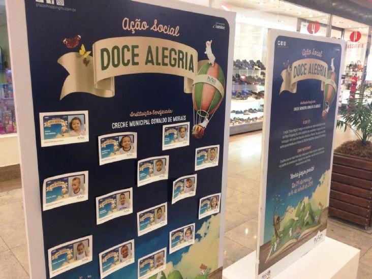 Plaza Shopping Itu arrecada ovos de chocolate para creche municipal