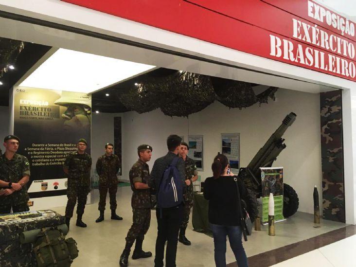 "Plaza Shopping Itu recebe exposição exclusiva ""Exército Brasileiro"""