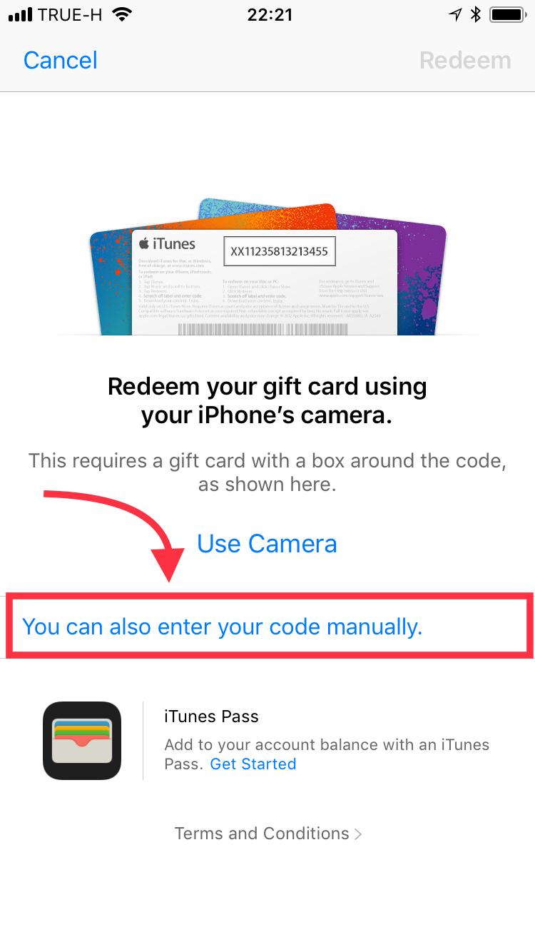 วธเตมเงน Redeem ผาน Iphone หรอ Ipod Touch - how to redeem roblox gift card on ipad app