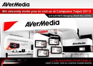 AVerMedia_Computex 2013 Invitation