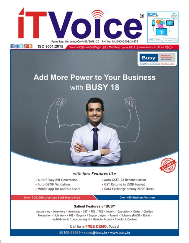 IT Voice June 2019 Edition