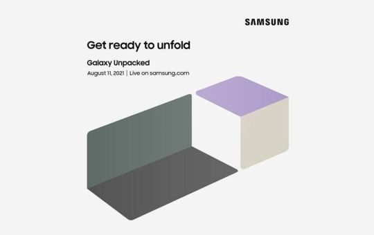 Galaxy Z Fold 3 & Galaxy Z Flip 3 could be launched at Unpacked event on 11 August