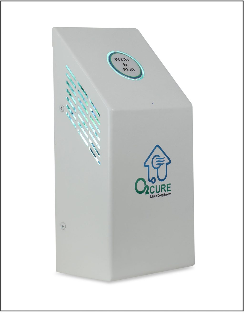 Plug & Play a lightweight air purifier, successfully proven & tested for neutralizing the novel Coronavirus upto 99%