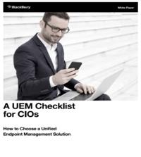 A UEM Checklist for CIOs