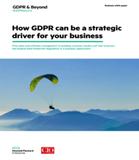 How GDPR can be a strategic driver for your business