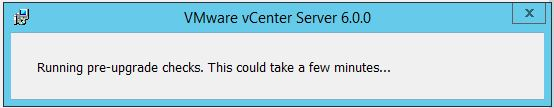 vCenter upgrade5