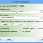 Free tool for converting OST to PST