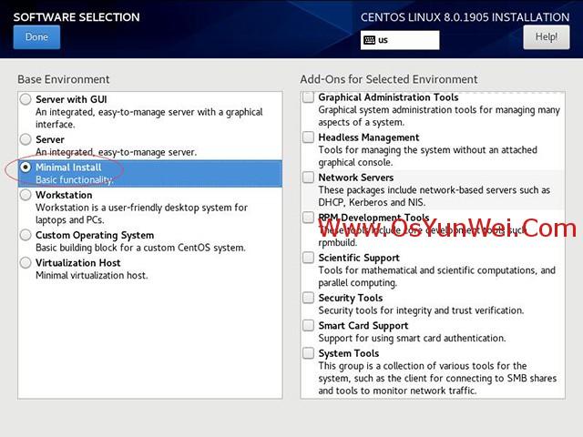 CentOS 8.0.1905 linux服務器系統安裝與配置圖解教程(3) - IT科技網