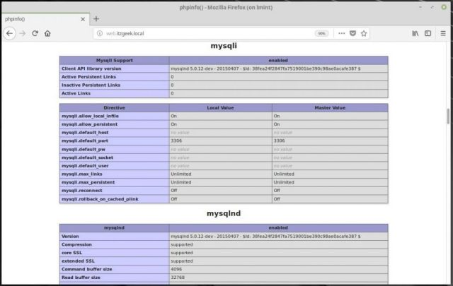 Install Linux, Nginx, MariaDB, PHP (LEMP Stack) on Linux Mint 19 - MySQL Support
