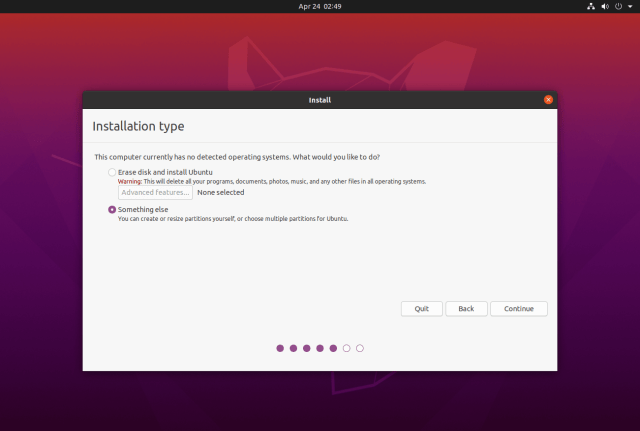 How To Install Ubuntu 12.12 LTS (Focal Fossa) On UEFI and Legacy