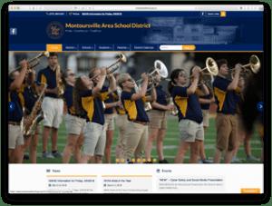 Montoursville School District Website