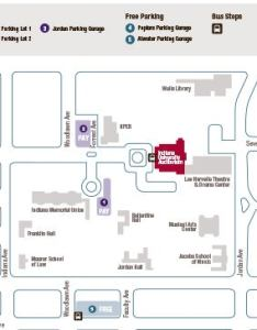 Parking map also information indiana university auditorium rh iuauditorium