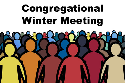 Winter Congregational Meeting