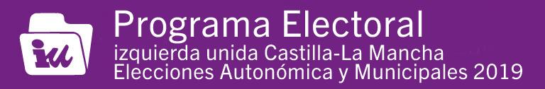 Banner Programa electoral mayo 2019 2