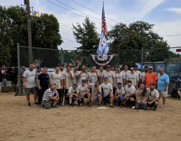 L2 Local 2 softball team takes second place in the DAD's Day Trades Softball Tournament in July