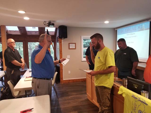 L85 Initiation of Caleb Marr by Safety Director Mike Langer