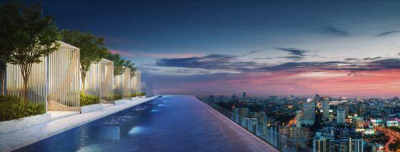 %name สำรวจทำเล New CBD แยกพระราม 9 พร้อมคอนโด Life ASOKE RAMA9 ส่วนกลางเหนือชั้น Rooftop Facility ขนาด 1.5 ไร่ ใกล้ MRT 300 เมตร