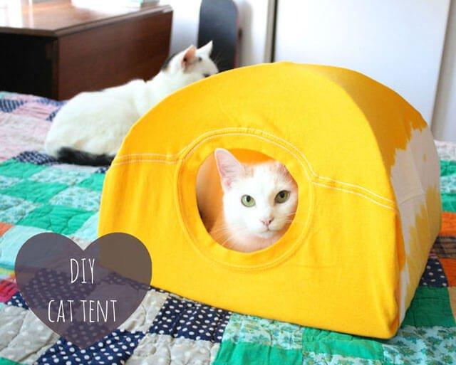DIY : เต๊นท์แมวเหมียว 32 - DIY