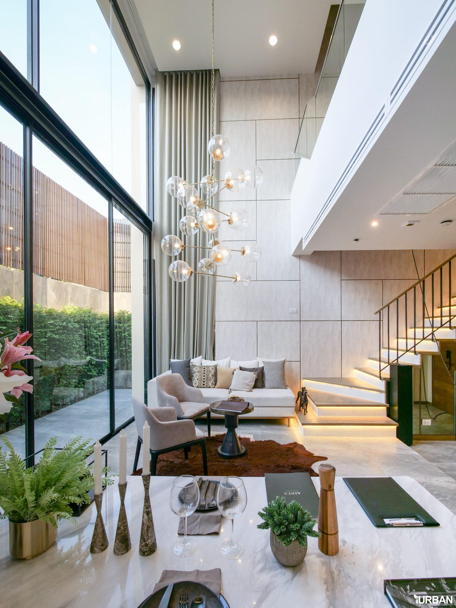 AIRES RAMA9 รีวิว Luxury Townhome 3.5 ชั้น + Rooftop ออกแบบสวย ย่านพระราม9 (ใกล้ รพ.สมิติเวช) 24 - AIRES