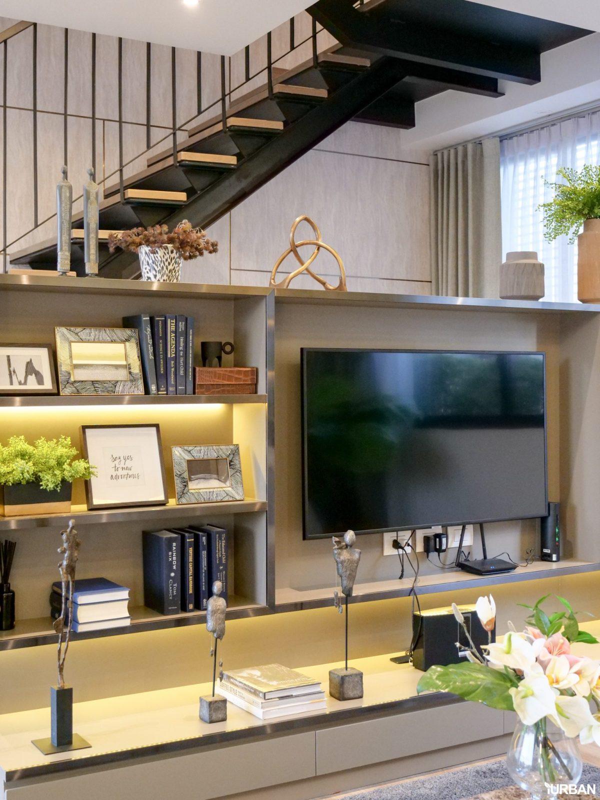AIRES RAMA9 รีวิว Luxury Townhome 3.5 ชั้น + Rooftop ออกแบบสวย ย่านพระราม9 (ใกล้ รพ.สมิติเวช) 47 - AIRES