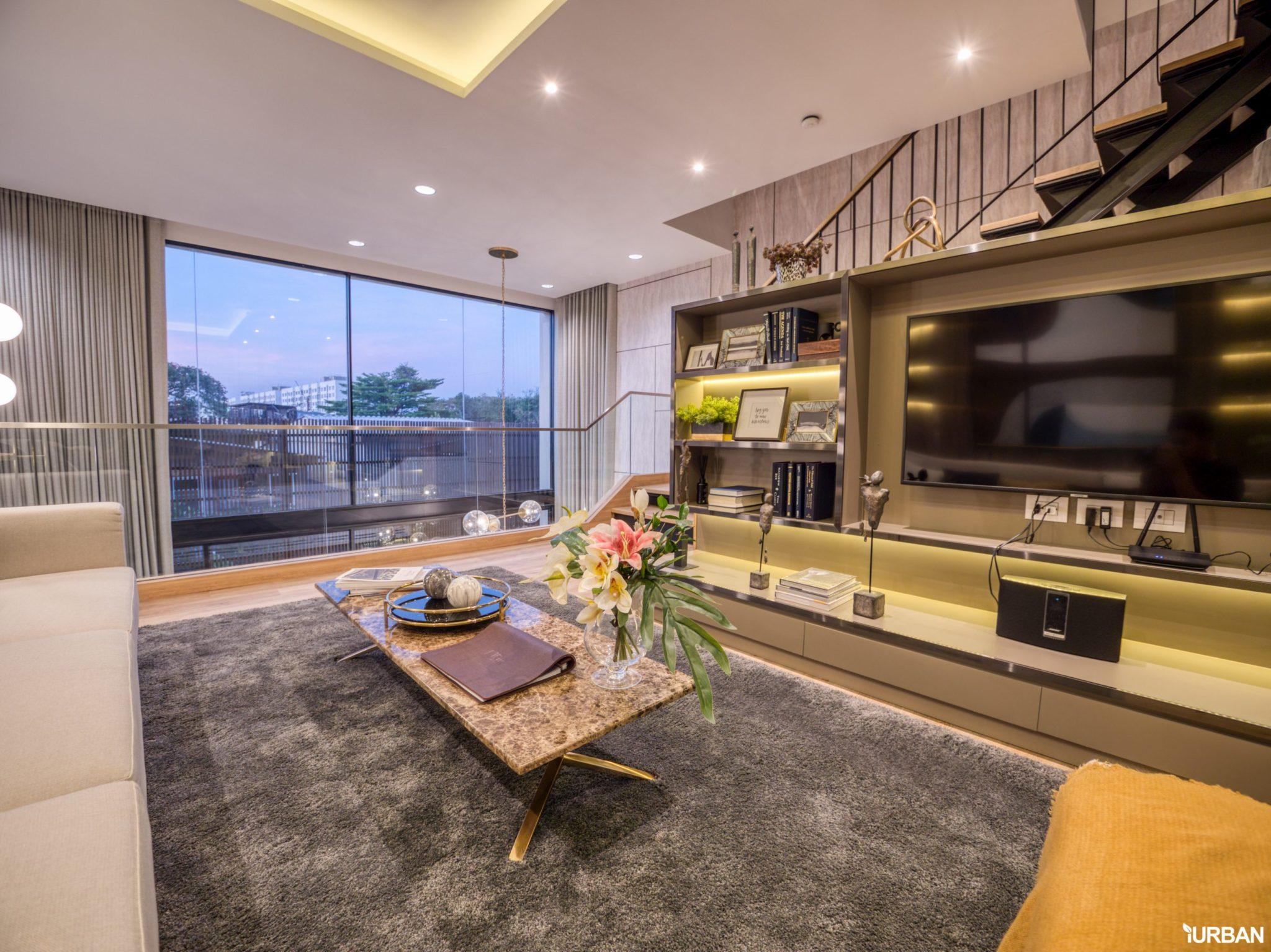 AIRES RAMA9 รีวิว Luxury Townhome 3.5 ชั้น + Rooftop ออกแบบสวย ย่านพระราม9 (ใกล้ รพ.สมิติเวช) 40 - AIRES