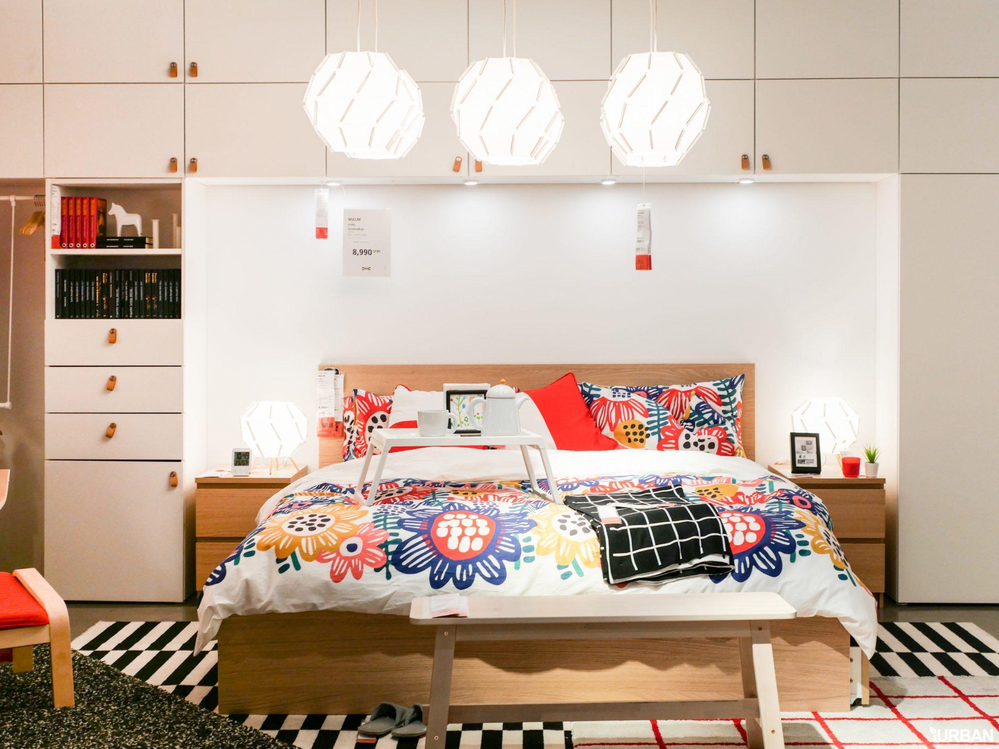 """9 วิธีจัดห้องเก่าให้เหมือนใหม่ ลอกวิธีจัดห้องในพื้นที่เล็ก """"Small Space"""" แบบ IKEA 73 - Bedroom"""
