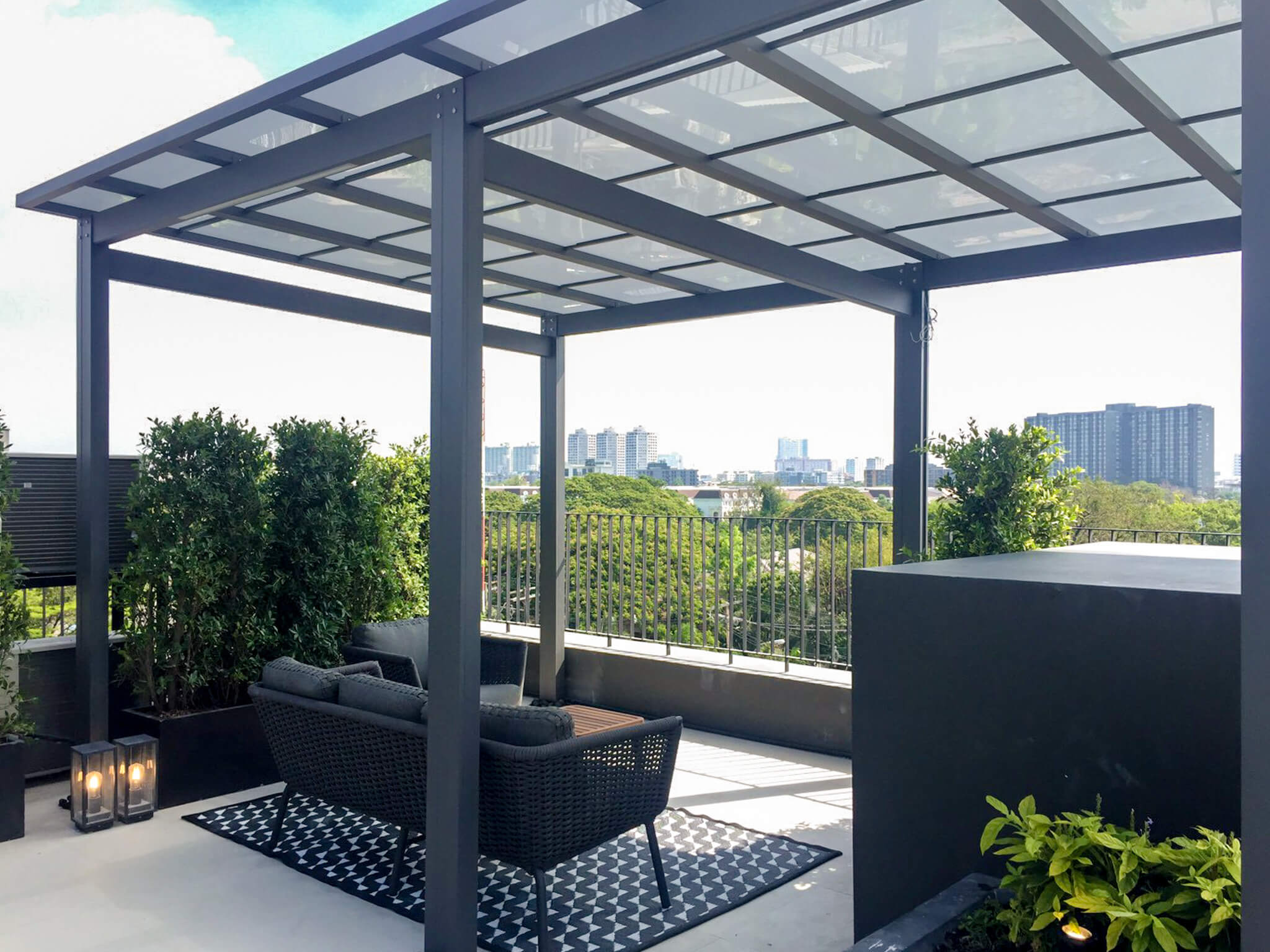 AIRES RAMA9 รีวิว Luxury Townhome 3.5 ชั้น + Rooftop ออกแบบสวย ย่านพระราม9 (ใกล้ รพ.สมิติเวช) 84 - AIRES