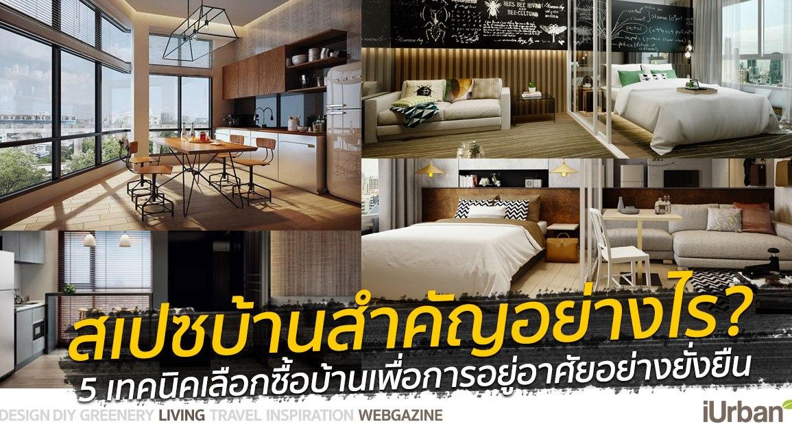"""""""ออกแบบสเปซ (Space) สำคัญกว่าที่คิด"""" 5 เทคนิคเลือกซื้อบ้านเพื่อการอยู่อาศัยอย่างยั่งยืน 13 - AP (Thailand) - เอพี (ไทยแลนด์)"""