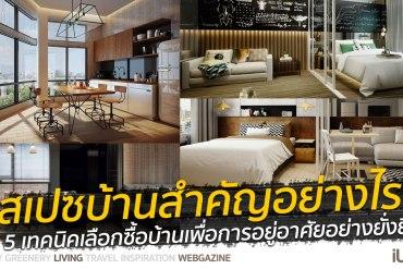 """""""ออกแบบสเปซ (Space) สำคัญกว่าที่คิด"""" 5 เทคนิคเลือกซื้อบ้านเพื่อการอยู่อาศัยอย่างยั่งยืน 22 - Art & Design"""