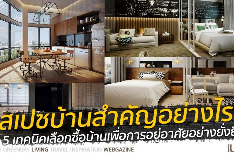 """""""ออกแบบสเปซ (Space) สำคัญกว่าที่คิด"""" 5 เทคนิคเลือกซื้อบ้านเพื่อการอยู่อาศัยอย่างยั่งยืน 14 - Premium"""