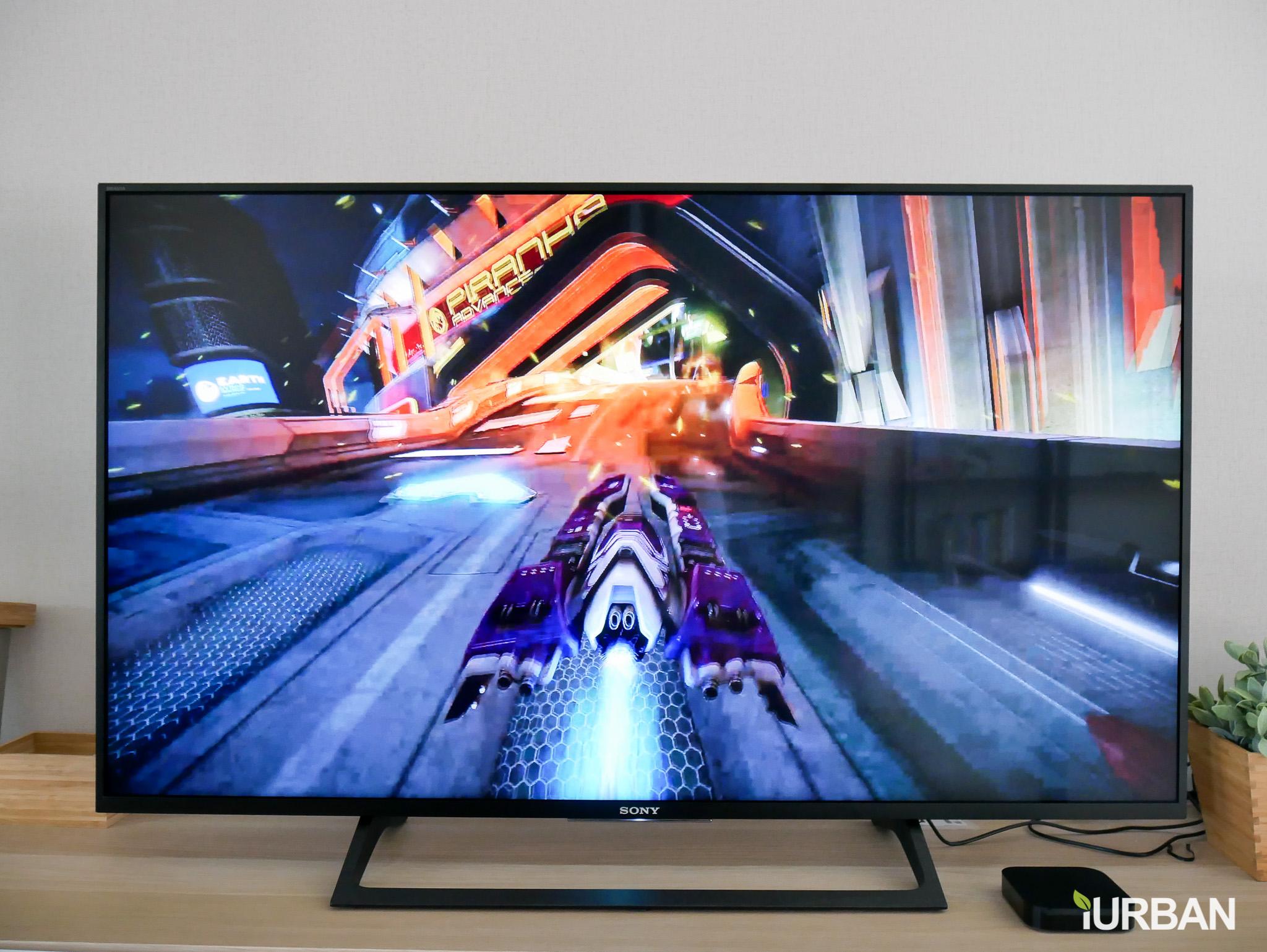 รีวิว SONY Android TV รุ่น X8000E งบ 26,990 แต่สเปค 4K HDR เชื่อมโลก Social กับทีวีอย่างสมบูรณ์แบบ 35 - Android