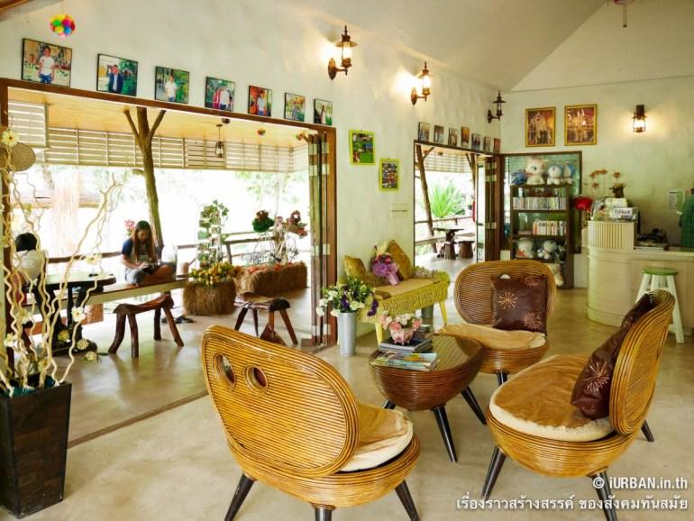 ชีวิตในโพรงไม้ ติดเขา บ้านขอนไม้ @Theerama Cottage สวนผึ้งรีสอร์ท 15 - 100 Share+