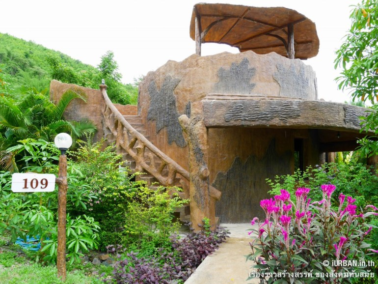 ชีวิตในโพรงไม้ ติดเขา บ้านขอนไม้ @Theerama Cottage สวนผึ้งรีสอร์ท 24 - 100 Share+