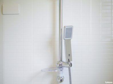 shower head อย่างดี พร้อมเดินไฟสำหรับติดตั้งเครื่องทำน้ำอุ่น