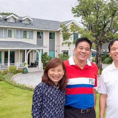 """สัมภาษณ์ครอบครัว """"สรรพกิจ"""" ถูกใจอะไร? ถึงลงทุนสร้างบ้าน SCG HEIM ตั้ง 3 หลังติดกันที่เขาใหญ่ 96 - Interview"""
