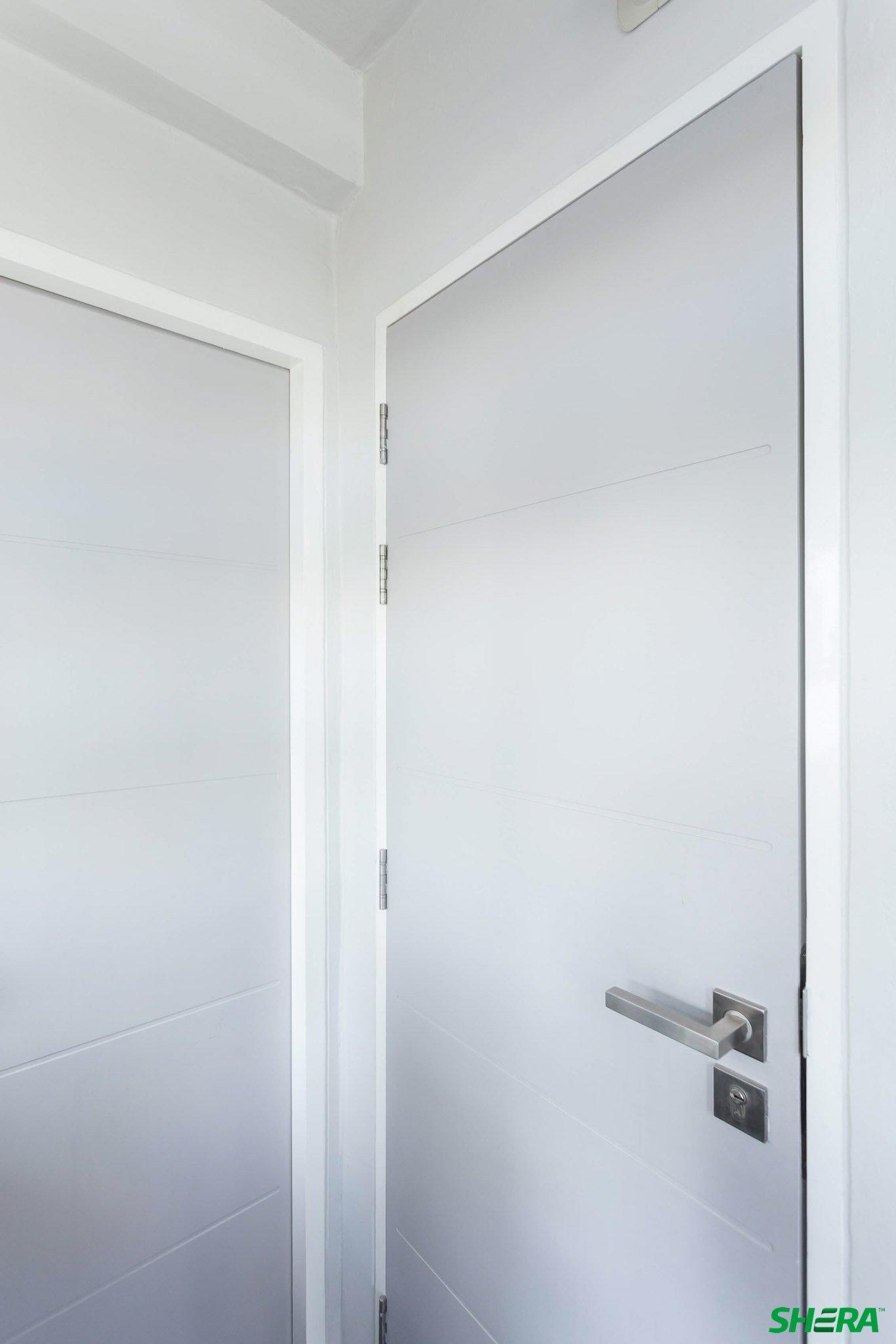 รีโนเวทบ้าน แปลงคอนโดเก่าเป็นสไตล์ Loft และประตูสวยทนด้วยไฟเบอร์ซีเมนต์จาก Shera 34 - fiber cement wood