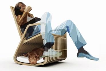 Rocking Chair Hybrid Furniture 25 - Creative