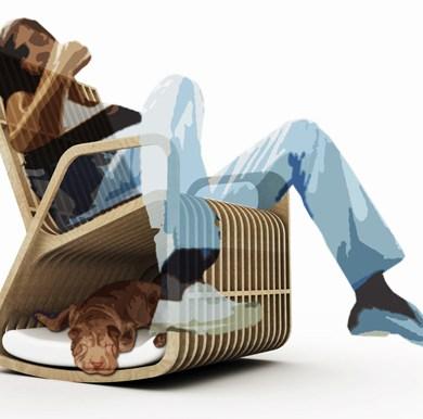 Rocking Chair Hybrid Furniture 16 - Creative