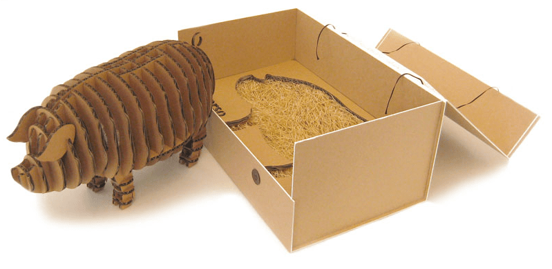 %name Animal paper package