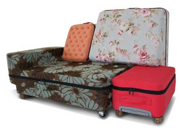 Suited Case by Erik De Nijs21 กระเป๋าแปลงร่างเป็นโซฟา..อย่างนี้ก็มีด้วย