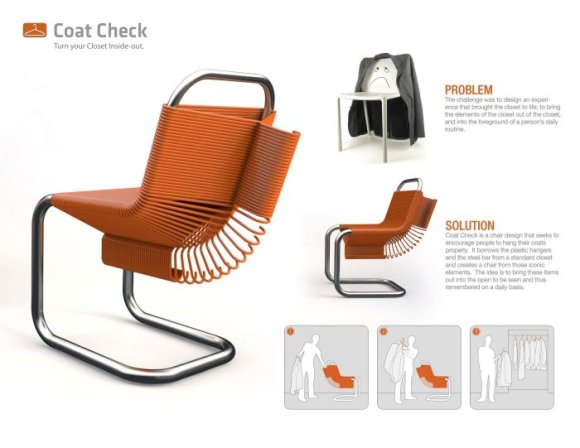 %name Coat Check Chair