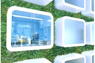 หน้าตาโรงพยาบาลในปี 2020 6 - modern urban living